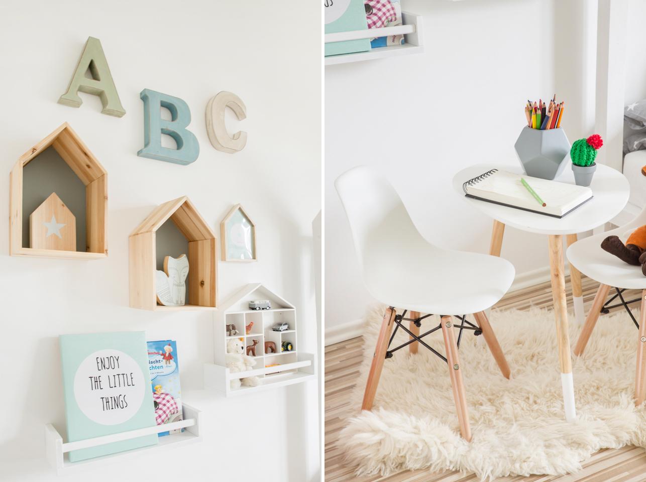 Kinderzimmer farblich